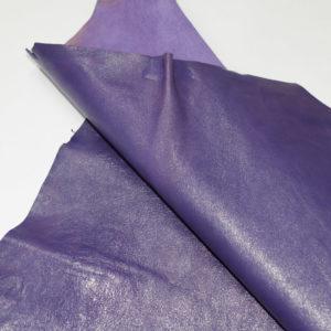 Кожа МРС, фиолетовая, 37 дм2.-101051