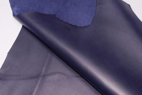 Кожа МРС, тёмно-синяя, 41 дм2.-101064