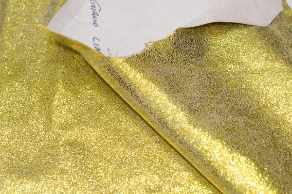 Велюр МРС с напылением, жёлтый, 51 дм2.-101131