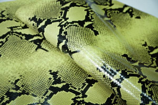 Кожа КРС, коллекция Gucci, светло-зелёная, 97 дм2.-101181