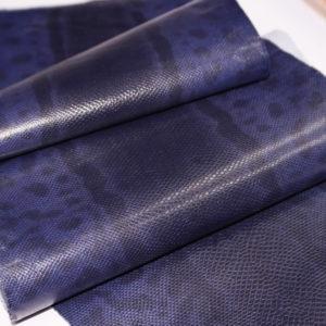 Кожа змеи (Karung), фиолетовая, 135х25 см-101240