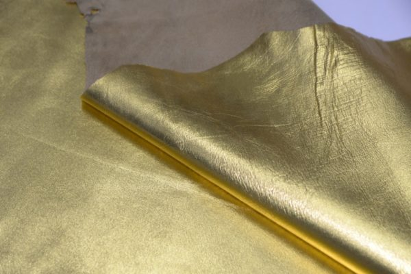Кожа МРС, золотая, 55 дм2.-102009