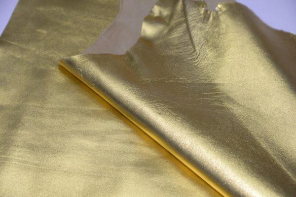 Кожа МРС, золотая, 55 дм2.-102014