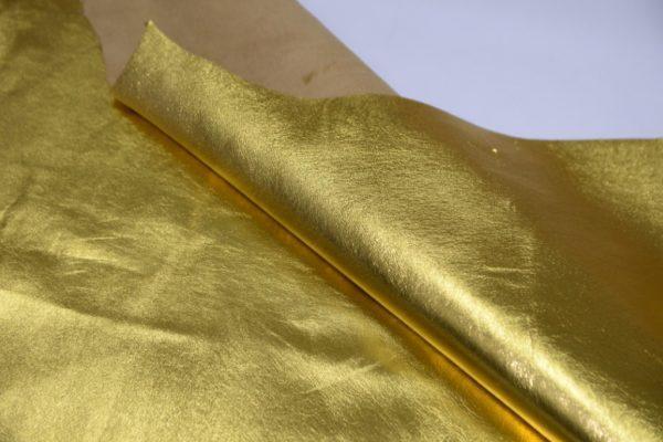 Кожа МРС, золотая, 55 дм2.-102016