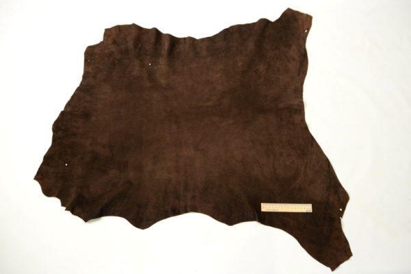 Велюр МРС, коричневый в точечку,64 дм2.-102028