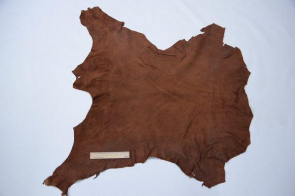 Велюр МРС, коричневый, 47 дм2. Russo di casandrino S.p.A.-102091