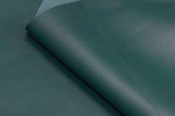 Кожа МРС, зелёная патина, 59 дм2.-103076