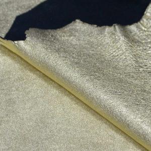 Кожа МРС, светлое-золото, 40 дм2.-103082