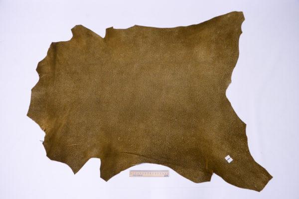 Кожа МРС, коричневая с разводами, 60 дм2.-103257