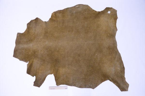 Кожа МРС, коричневая с разводами, 66 дм2.-103258