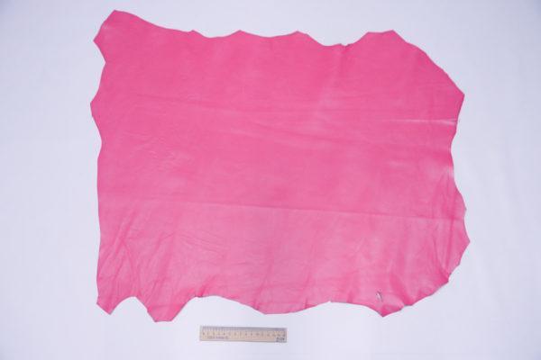 Кожа МРС, малиновая, 44 дм2, Russo di Casandrino S.p.A.-104069