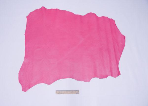 Кожа МРС, малиновая, 42 дм2, Russo di Casandrino S.p.A.-104070