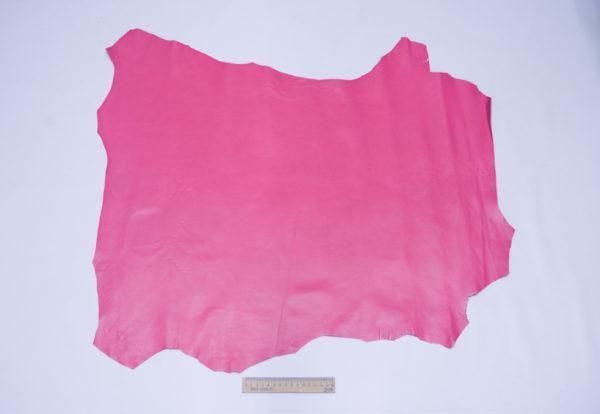 Кожа МРС, малиновая, 49 дм2, Russo di Casandrino S.p.A.-104072
