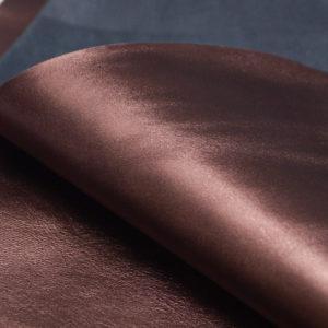 Кожа МРС, шоколадный металлик, 44 дм2.-104094