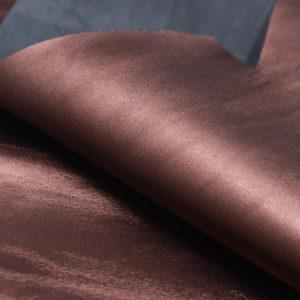 Кожа МРС, шоколадный металлик, 41 дм2.-104095
