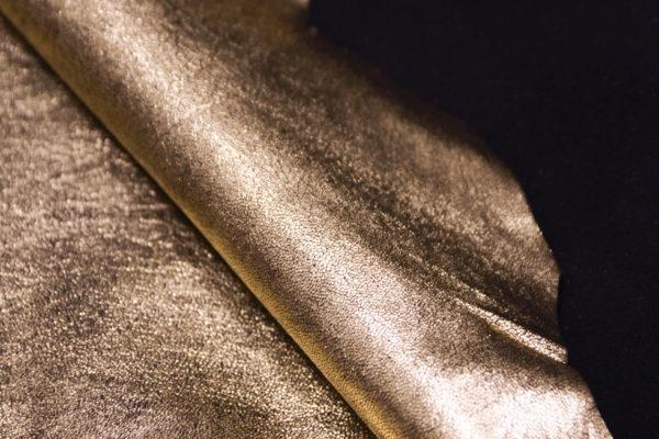 Кожа МРС, золотая, 43 дм2.-104104