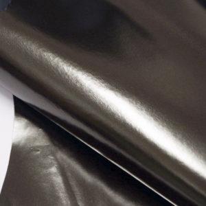 Кожа МРС, серо-зелёный металлик, 38 дм2.-104106