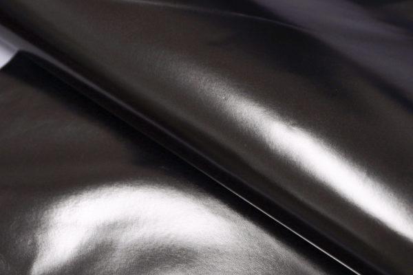 Кожа МРС, серо-зелёный металлик, 37 дм2.-104112