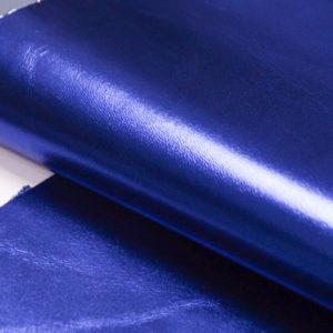 Кожа МРС, синий металлик, 25 дм2.-104121