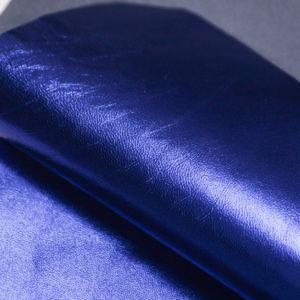 Кожа МРС, синий металлик, 35 дм2.-104122