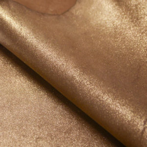 Велюр МРС с напылением, золотистый, 44 дм2.-104129