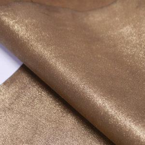 Велюр МРС с напылением, золотистый, 41 дм2.-104130
