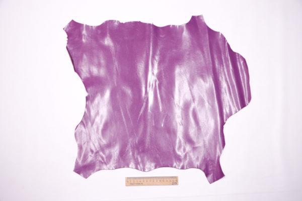 Кожа МРС, тёмно-сиреневая, 26 дм2, Conceria Stefania S.p.A.-104178