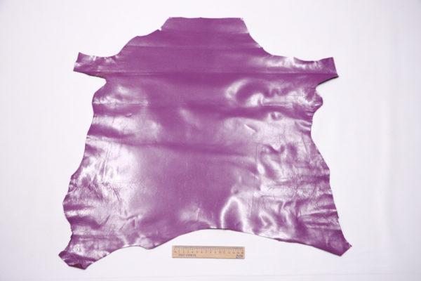 Кожа МРС, тёмно-сиреневая, 30 дм2, Conceria Stefania S.p.A.-104179