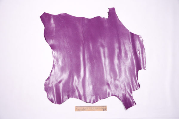 Кожа МРС, тёмно-сиреневая, 23 дм2, Conceria Stefania S.p.A.-104181