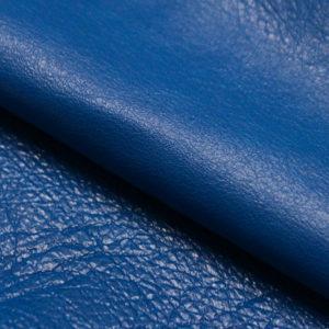 Кожа козы (шевро), синяя, 33 дм2.-104208