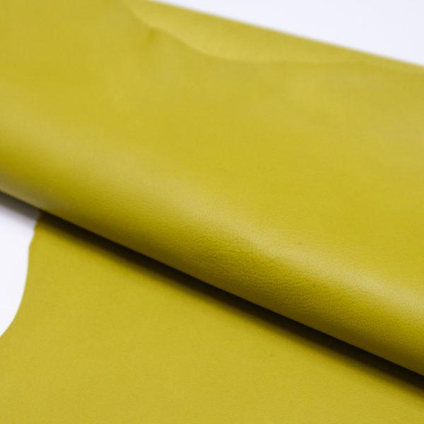 Кожа МРС, жёлто-зелёная, 50 дм2.-106001