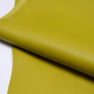 Кожа МРС, жёлто-зелёная, 48 дм2.-106002