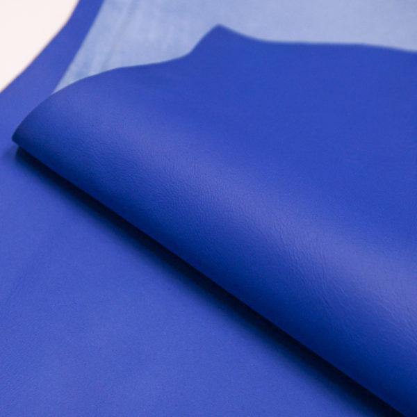 Кожа МРС, синяя, 51 дм2.-106007