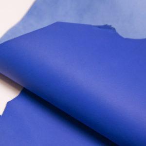 Кожа МРС, синяя, 49 дм2.-106008