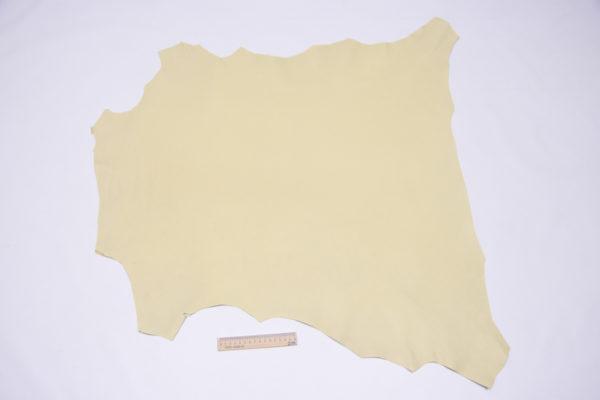 Кожа МРС, бледно-жёлтая, 63 дм2.-106037