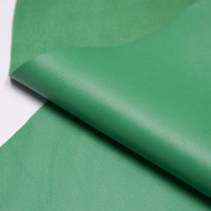 Кожа МРС, светло-зелёная, 35 дм2.-106056