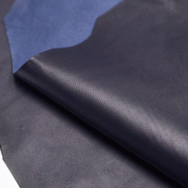 Кожа МРС, тёмно-синяя (чернильная), 50 дм2.-106071