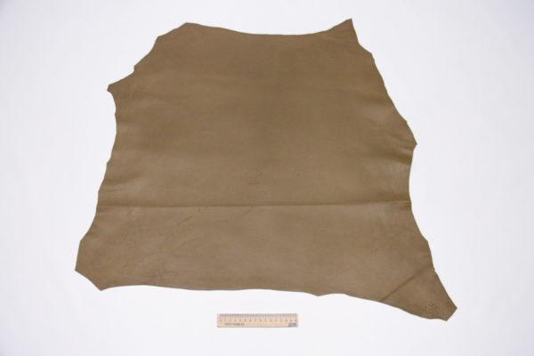 Кожа МРС, оливково-коричневая, 40 дм2.-106093