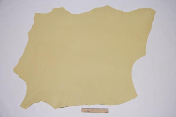 Кожа МРС, бледно-жёлтая, 57 дм2.-106103