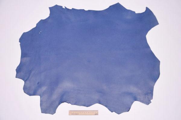 Кожа МРС, синяя, 51 дм2.-106104