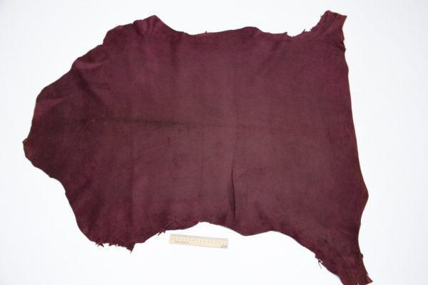 Велюр  МРС, бордовый, 68 дм2.-106106
