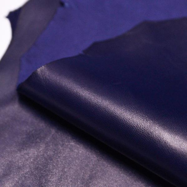 Кожа МРС, синяя, 50 дм2.-106120