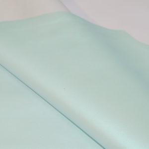 Кожа МРС, голубая с перламутром, 61 дм2.-114604