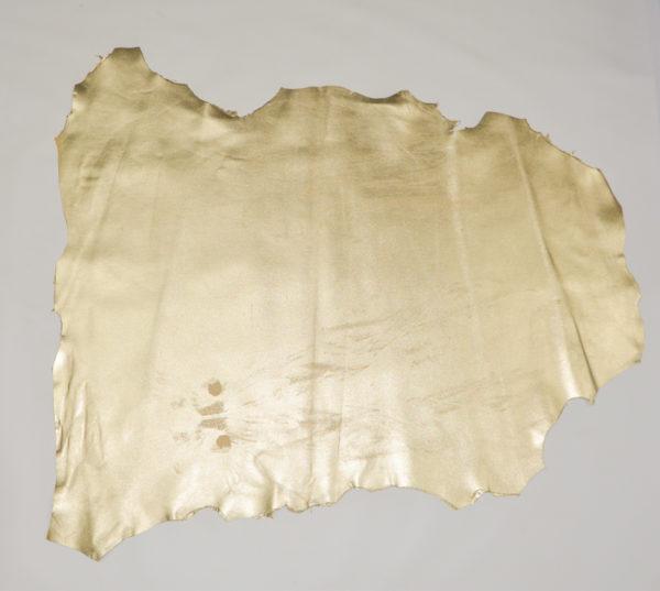 Кожа МРС, светлое-золото, 51 дм2.-114608