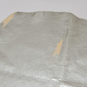 Кожа МРС, серебряная, 32 дм2.-114616