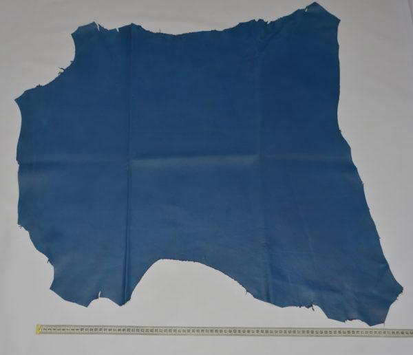 Кожа МРС, синяя, 65 дм2.-114641
