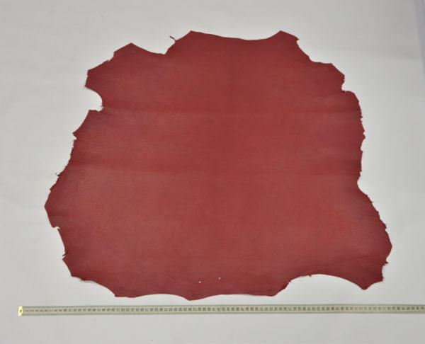 Кожа МРС, красная с пепельным эффектом, 42 дм2.-114660