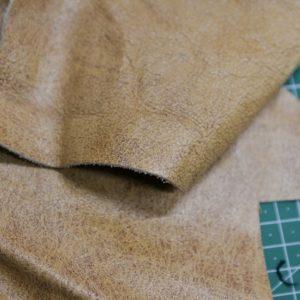 Кожа КРС, светло-коричневая-131225