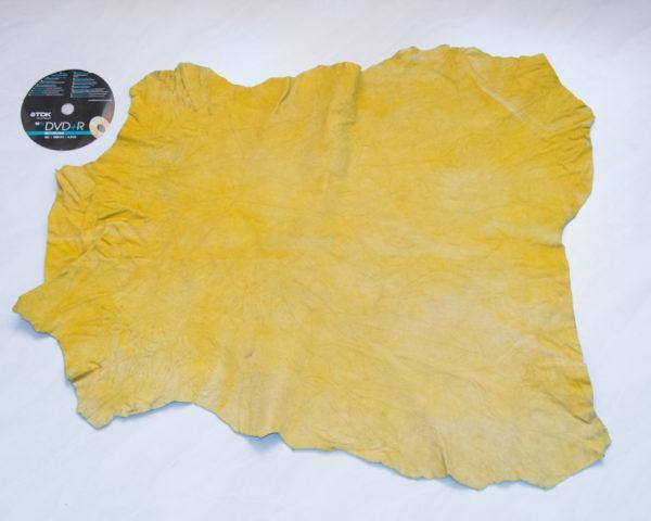Велюр МРС, лимонно-жёлтый, 28 дм2.-742038