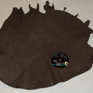 Велюр МРС с дублировкой, коричневый, 30 дм2.-742085